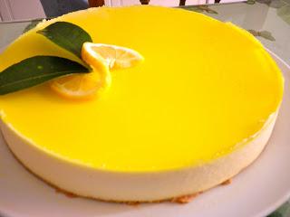 Tarta de Queso y Limón - Recetas rápidas y fáciles de tartas de queso