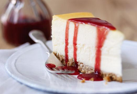 Tarta de Queso americana o New York Cheesecake