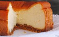 receta de tarta de queso al horno clasica
