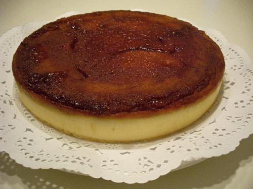 Tarta de Queso al horno con Caramelo